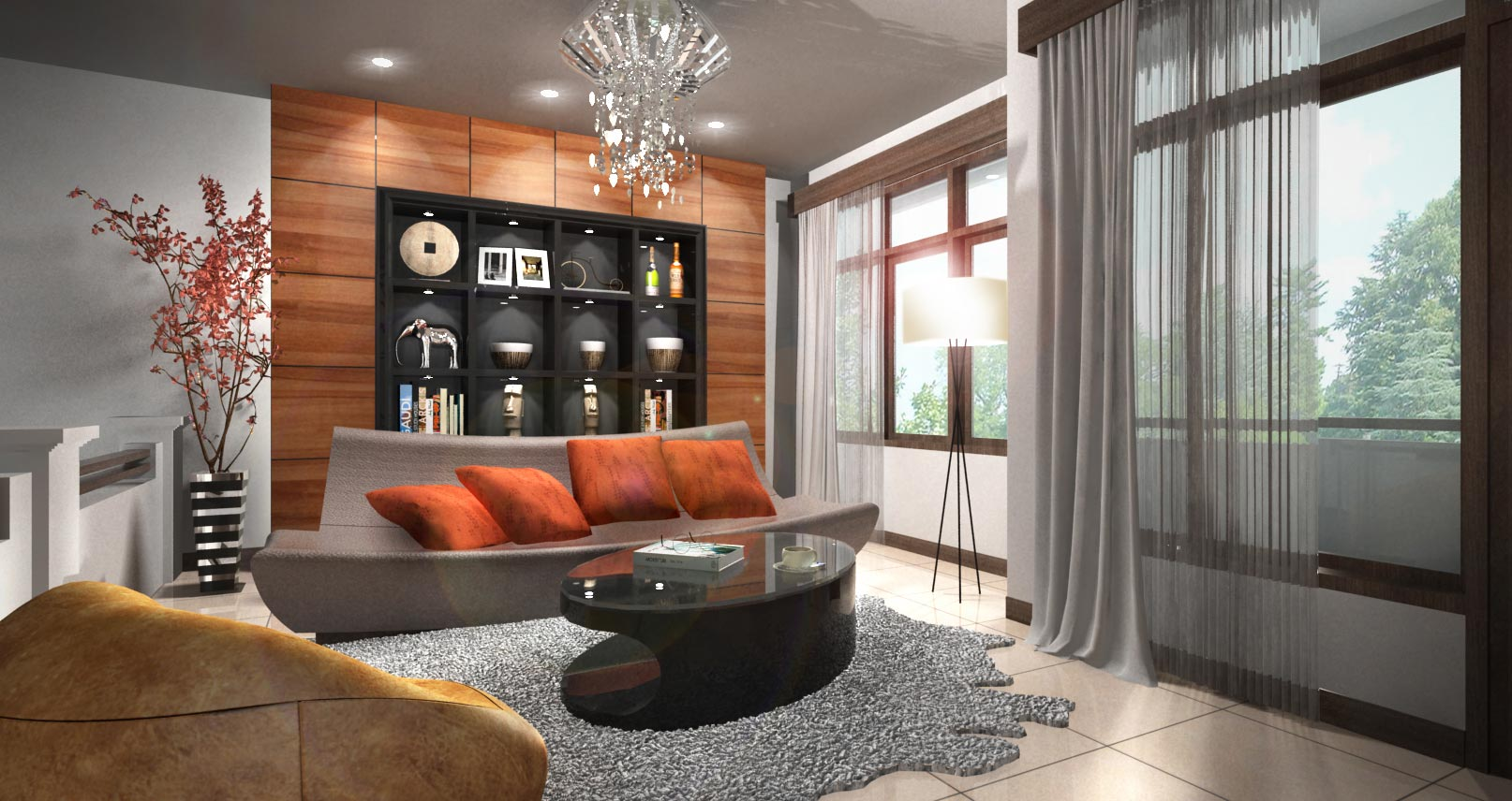 Sentra-Murni-Residence---Lounge-Lantai-2